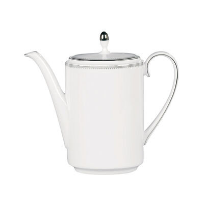 "Vera Wang for Wedgwood ""Grosgrain"" Coffee Pot, , default"