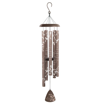 """""""In Memory"""" Silhouette Wind Chimes"""