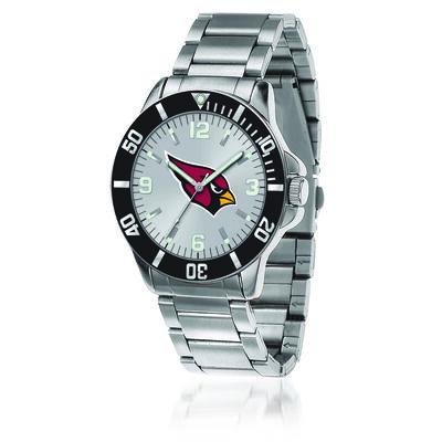 Men's 46mm NFL Arizona Cardinals Stainless Steel Key Watch, , default