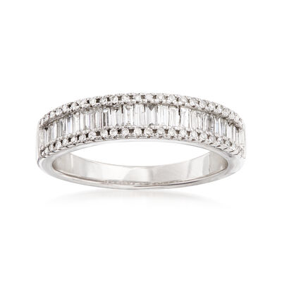 .50 ct. t.w. Diamond Ring in 14kt White Gold, , default