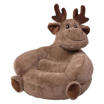 Children's Plush Moose Chair