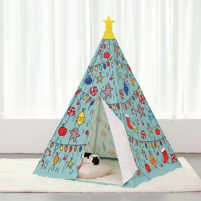 Child's Christmas Teepee Tent