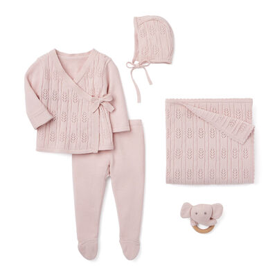 "Elegant Baby ""Coming Home"" 5-pc. Pink Newborn Set"