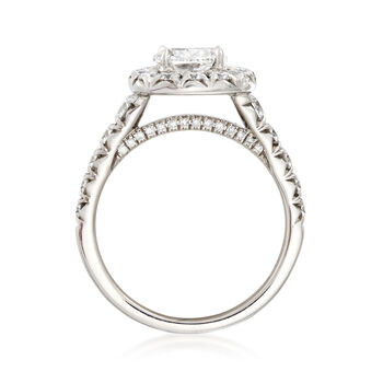 Henri Daussi 2.15 ct. t.w. Certified Diamond Engagement Ring in 18kt White Gold, , default