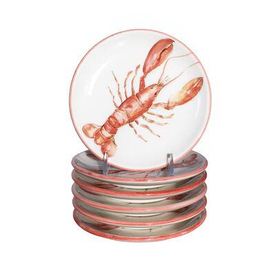 Abbiamo Tutto Italian Lobster Ceramic Dinnerware, , default