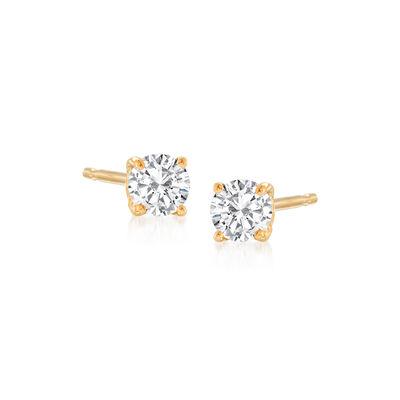 .25 ct. t.w. Diamond Stud Earrings in 14kt Yellow Gold