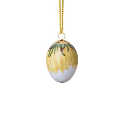 """Royal Copenhagen """"Spring"""" 2020 Dandelion Petals Porcelain Easter Egg, , default"""
