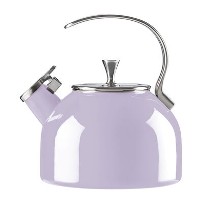 Kate Spade New York 18/10 Stainless Steel Lilac Tea Kettle