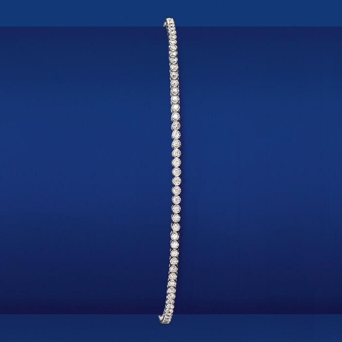 1.00 ct. t.w. Diamond Tennis Bracelet in 14kt White Gold
