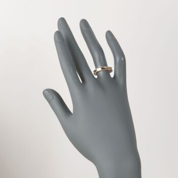"Roberto Coin ""Symphony"" Princess 18kt Yellow Gold Ring. Size 7, , default"