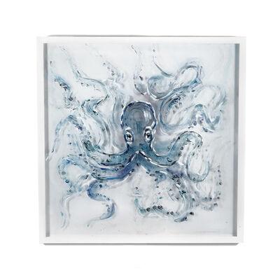 Handpainted Octopus Wall Art, , default