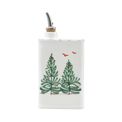 """Vietri """"Lastra Holiday"""" Olive Oil can from Italy"""