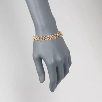 "14kt Yellow Gold Multi-Link Bracelet. 8"", , default"