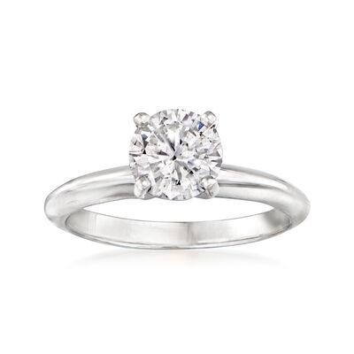 1.25 Carat Diamond Engagement Ring in 14kt White Gold