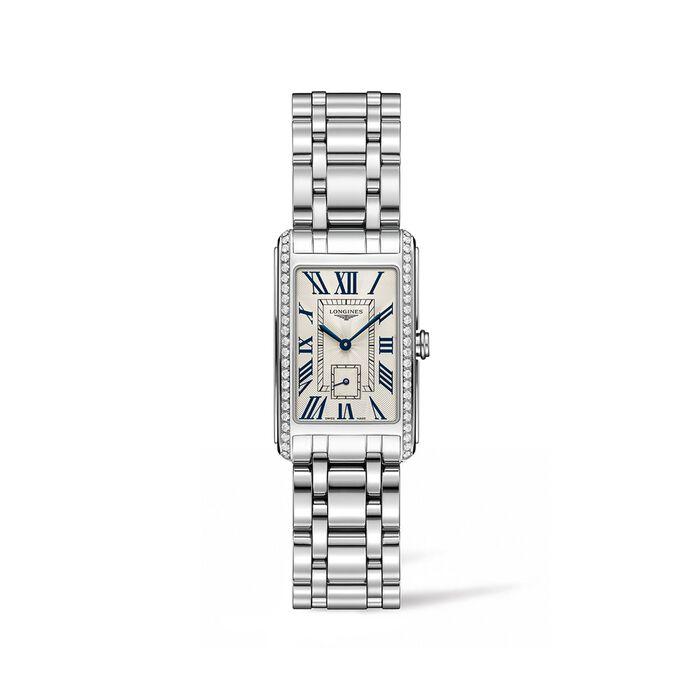 Longines Dolcevita Women's 23x37mm .55 ct. t.w. Diamond Watch in Stainless Steel, , default