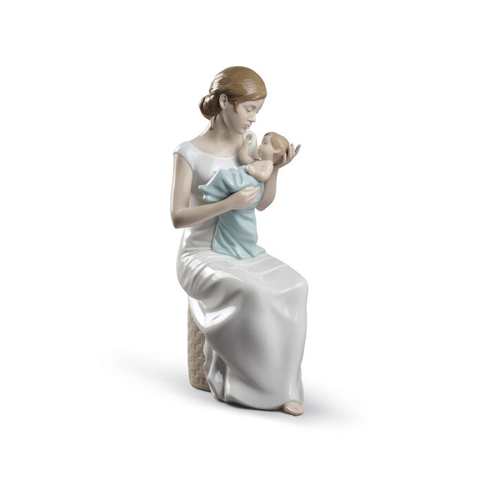 """Lladro """"Soothing Lullaby"""" Porcelain Figurine, , default"""