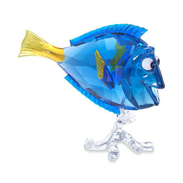 "Swarovski Crystal ""Disney's Dory"" Blue and Yellow Crystal Figurine, , default"