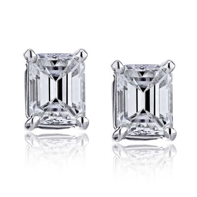 .48 ct. t.w. Certified Diamond Stud Earrings in Platinum, , default