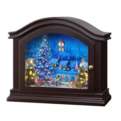 "Mr. Christmas ""Mantel Christmas"" Music Box"