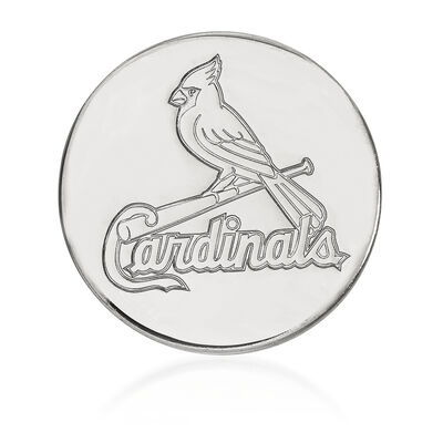Sterling Silver MLB St. Louis Cardinals Lapel Pin, , default