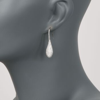 Roberto Coin 2.31 ct. t.w. Pave Diamond Earrings in 18kt White Gold , , default