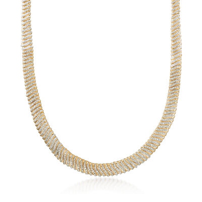 5.00 ct. t.w. Diamond Flex Necklace in 14kt Yellow Gold, , default
