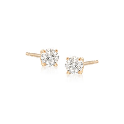 .10 ct. t.w. Diamond Stud Earrings in 14kt Yellow Gold