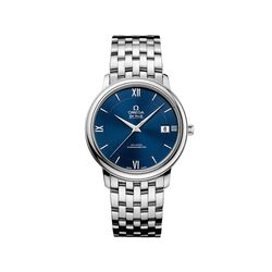 Omega De Ville Prestige Men's 36.8mm Stainless Steel Watch With Blue Dial , , default
