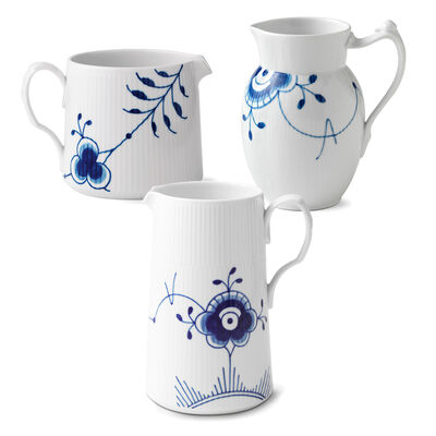 "Royal Copenhagen ""Blue Fluted Mega"" Porcelain Jug"