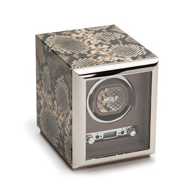 "Wolf ""Exotic"" Tan Leather Single Watch Winder, , default"