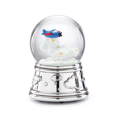 "Reed & Barton ""Zoom Zoom"" Musical Water Globe, , default"