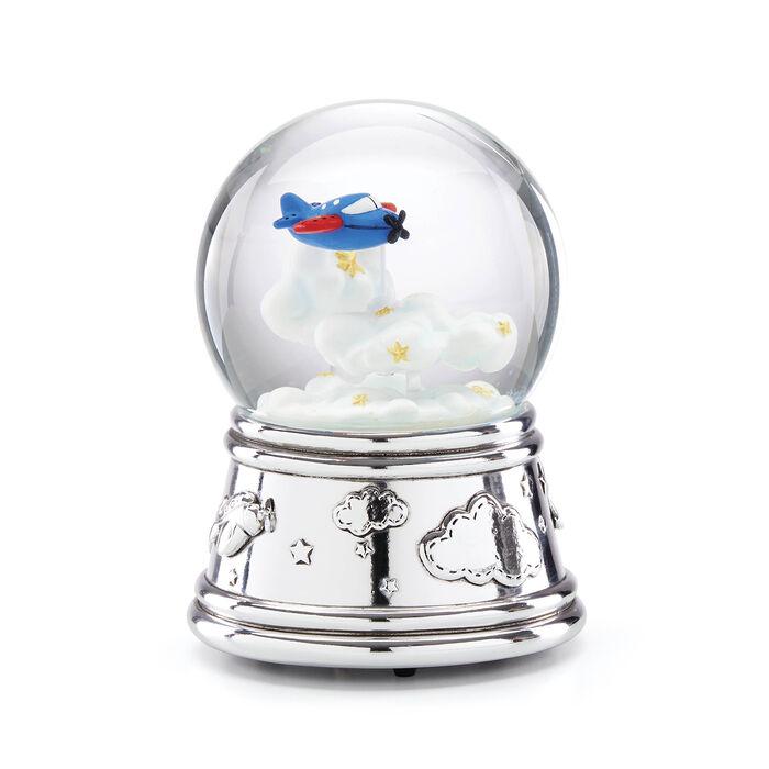 "Reed & Barton ""Zoom Zoom"" Musical Water Globe, , default"