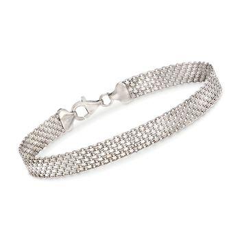 Sterling Silver Bismark Chain Bracelet, , default