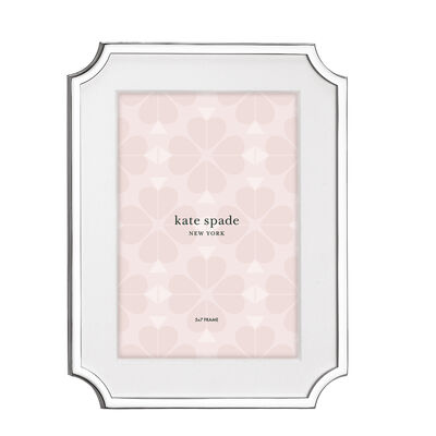"Kate Spade New York ""Sullivan Street"" Silver-Plated 5x7 Frame"