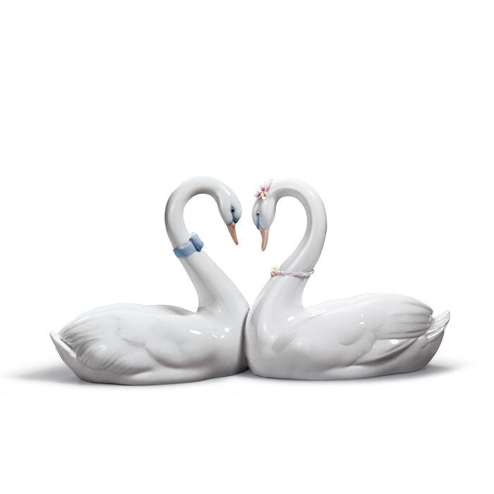 "Lladro ""Endless Love"" Porcelain Figurine, , default"