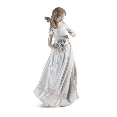 "Lladro ""Treasures of the Earth"" Porcelain Figurine, , default"