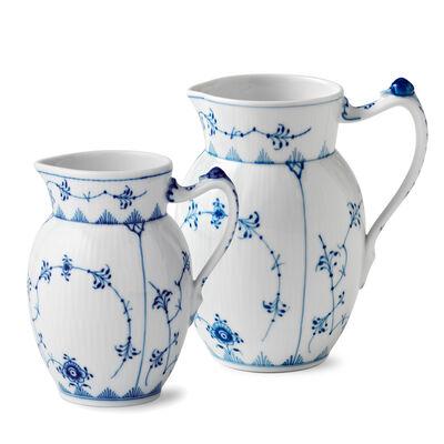 """Royal Copenhagen """"Blue Fluted Plain"""" Porcelain Jug"""