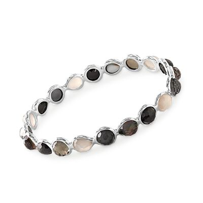 "C. 2013 Ippolita ""Rock Candy"" Multi-Stone Bangle Bracelet in Sterling Silver, , default"