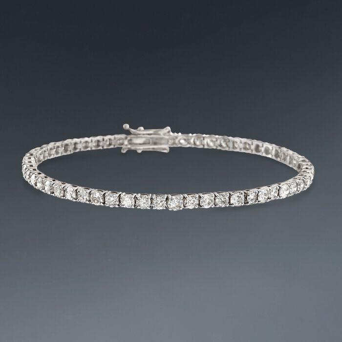 6.00 ct. t.w. Diamond Tennis Bracelet in 14kt White Gold