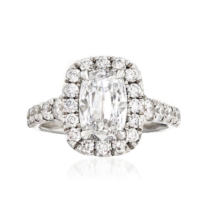 Henri Daussi 2.61 ct. t.w. Certified Diamond Ring in Platinum, , default