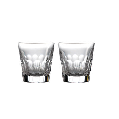 "Waterford Crystal ""Icon"" Set of 2 Double Old- Fashioned Glasses, , default"