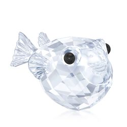 "Swarovski Crystal ""Blowfish"" Crystal Figurine, , default"