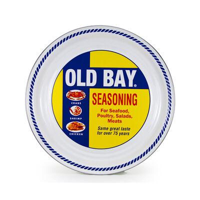 """Golden Rabbit """"Old Bay"""" Large Serving Tray, , default"""