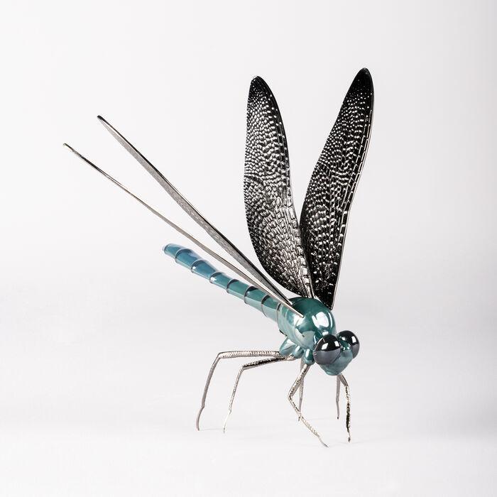 Lladro Porcelain Dragonfly Figurine, , default