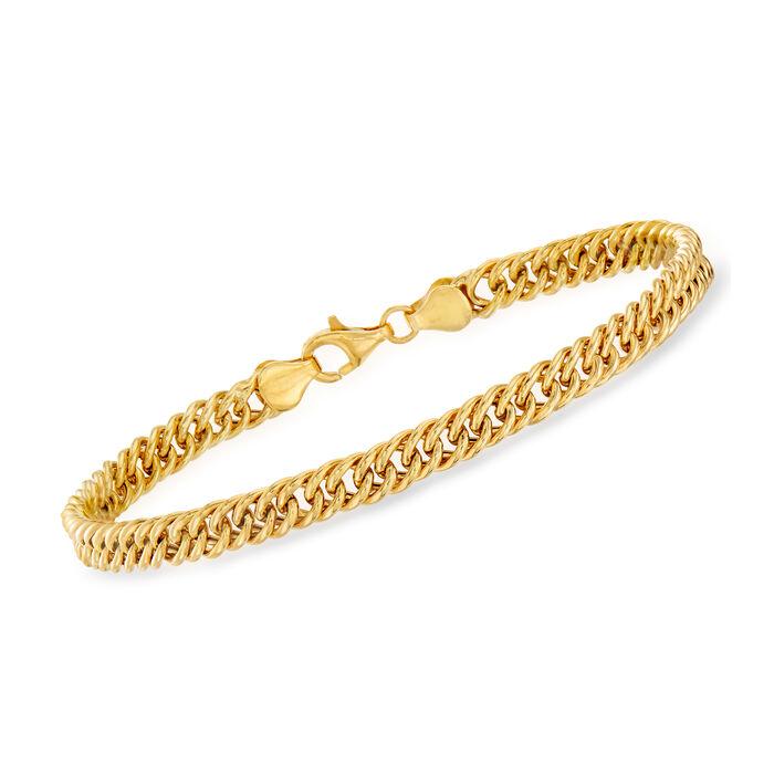 18kt Yellow Gold Link Bracelet