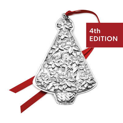 Gorham 2020 Sterling Silver Christmas Tree Ornament - 4th Edition