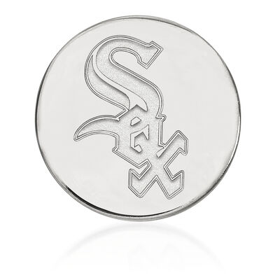 Sterling Silver MLB Chicago White Sox Lapel Pin, , default