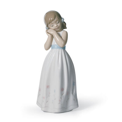 "Lladro ""My Sweet Princess"" Porcelain Figurine"