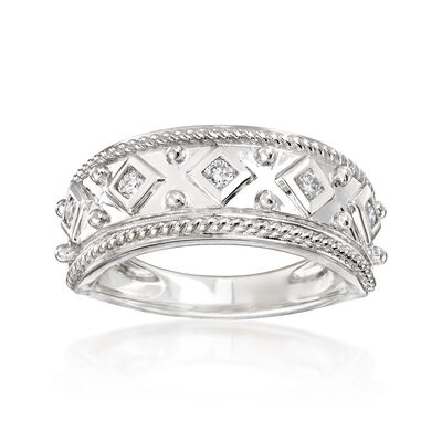 .20 ct. t.w. Diamond Band in 14kt White Gold, , default