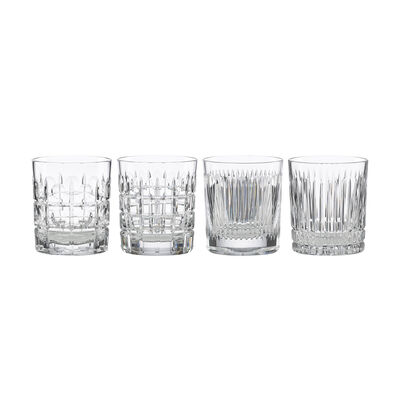 "Reed & Barton ""New Vintage"" Set of 4 Double Old-Fashioned Glasses, , default"